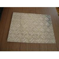 Quality 3003 Aluminum Alloy checkered Plate with 2 bars  for building wholesale
