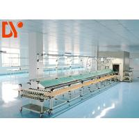 Buy cheap Flexible Lean Automated Production Line Customizable Size With Double Face Conveyor Belt from wholesalers