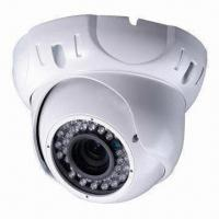 China 700TVL IR Vandal-resistant Dome Camera with Electronic Shutter Ranging from 1/50 to 1/10,0000S on sale