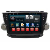 Quality Android System TOYOTA GPS Navigation With 3G WIFI Bluetooth Camera Input wholesale