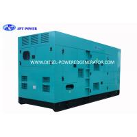 Quality 400kVA 3 Phase 4 Wire Water Cooling Diesel Generator Set By CE Certified wholesale