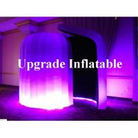 Quality new led inflatable igloo photo booth tent for advertising wholesale