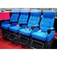 Quality Customized 4D Cinema System , Dynamic Hydraulic Motion Movie Theater wholesale