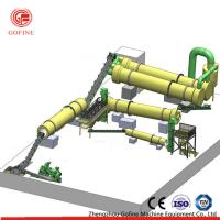 China Farming Industries Organic Fertilizer Production Line With ISO 9001 / CE Certification on sale