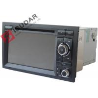 Cheap Original Front Panel 2 Din In Dash Car Dvd Player With Reverse Camera For A4 / Seat EXEO for sale