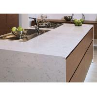 Quality Luxury Kitchen Natural Quartz Countertops With Sinks Common Sizes wholesale