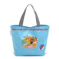 Quality Processing  various 600D oxford monster pattern cloth shopping bag for Halloween wholesale