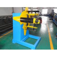 Quality Manual Type Roll Forming Machine Parts , 3 Ton Unpowered Roll Former Decoiler wholesale