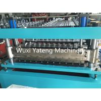 Buy cheap Galvanized Steel Door Frame Roll Forming Machine , High Durability Sheet Metal Forming Equipment product