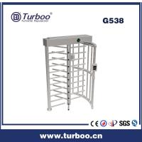 Quality Card Reader 304 Stainless Steel Turnstiles , Electronic Turnstile Gates wholesale