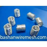 China thread insrts    stainless steel,copper alloy or  high temperature alloy on sale