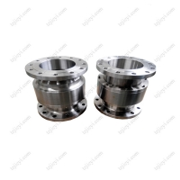 Quality Stainless steel 304 high pressure hydraulic swivel joint DIN flange standard wholesale