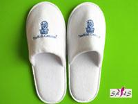 Quality Customized Microfiber 44 41 White Disposable Mens Hotel Bathroom Slippers wholesale
