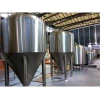 Quality Refrigerated Stainless Steel Conical Fermenter 1000L Large Brewing Equipment wholesale