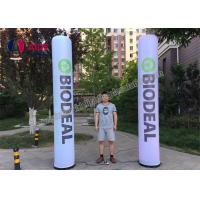 Cheap Led Column Inflatable Event Decoration Advertising , Inflatable Tube With Remote Control for sale