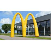 Quality new design advertising inflatable event arch display,custom letter M inflatable archway for promotion wholesale