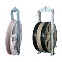 Quality Customized Cable Pulley Block Plastic Guide Pulley 1-3 Sheave 1160mm Diameter wholesale