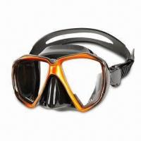 Quality Low Volume Diving Mask with Top Quality Tempered Glass Lenses wholesale