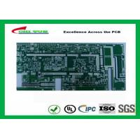 Quality Taconicrf Green Solder Mask Double Side PCB 0.75mm Lead Free HASL DK3.5 DF0.0025 wholesale