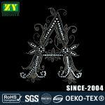 Quality Eco Friendly Hot Fix Rhinestone Designs , Lead Free Hotfix Motif Designs wholesale