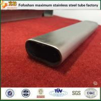 Quality Flat Stainless Steel Oval Tube Specialty Tubing For Handrailing Used wholesale