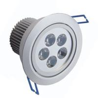 Quality 5 W CE ROHS Led Ceiling Spot Light 450lm / Led Replacement Halogen light wholesale