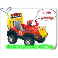 China Electric toys cars of China on sale