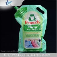 Quality Gravure Printing Customzied Stand Up Spout Pouches For Washing Liquid wholesale