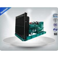 Quality 50Hz 3 Phase 4 Wire 470KW / 588KVA Water cooled Diesel Generator Set With IP23 Meccalte Brushless Alternator wholesale