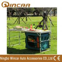 Quality Multi - Function Aluminum Folding Table With Cloth Cabinet Light Bar wholesale