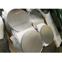 Quality Mill Finish 3000 Series Aluminum Round Plate , Strongest Commercial Grade Aluminum Disks wholesale