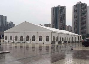 China 200 People White Alloy Outdoor Aluminum Frame Tent For Church Or Other Event on sale