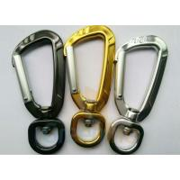 Quality 91MM Height Spring Snap Clip , Light Weight High Strength Heavy Duty Carabiner Clips wholesale