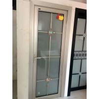 China aluminum swing door aluminum casement door entry doors on sale