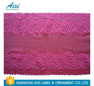 Quality White Guipure Lingerie Lace / Dresses Guipure Lace / Guipure Chemical Lace Fabric Nylon Stretch Lace wholesale