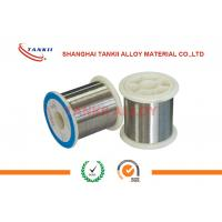 China NiCr80/20 Nickel Chromium Alloy Material Wire for Metal Film Resistor Coating on sale