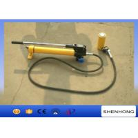 Quality Portable Overhead Line Construction Tools manual hydraulic oil pump , hydraulic hand pump wholesale