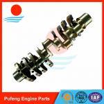 Quality Excavator crankshaft exporter Isuzu 10PC1 crankshaft for excavator/bulldozer 1-12310-652-0 wholesale