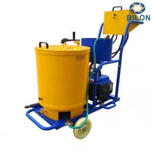 China Generator Hand Push Crack Sealing Machine  220V 0.95kw Overall Length 1020mm on sale