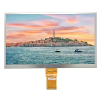Quality 10.1inch RGB Interface 1000cd/M2 Resistive Touch Panel wholesale