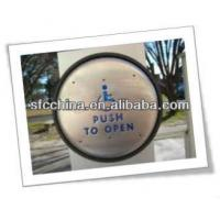 China Anti-theft Stainless Steel push to open or push to exit button on sale