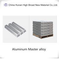 China Zn 20%  Zinc Aluminium Master Alloy AlZn20% Alloy Waffle Ingot on sale
