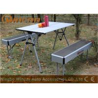 Quality Aluminum Multi-Purpose Center Folding Outdoor Camping Table Capacity 50kg wholesale