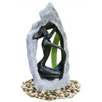 Quality Outside Garden Statue Water Fountains With Fiberglass / Cement / Magnesia Material wholesale