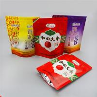 Quality Aluminum Foil  + PET + PE Stand Up Ziplock Bags For Dried Red Dates Packaging wholesale