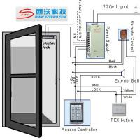 Quality Outstanding Quality RFID Entrance  Reader Entry Door Lock Access Control System wholesale