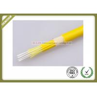 China 12core Fiber optic breakout  cable singlemode yellow color jacket on sale