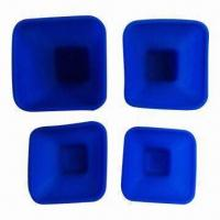 Buy cheap Measuring Cups, Silicone Type, 1cup,1/2cup,1/3cup,1/4cups are Available from wholesalers