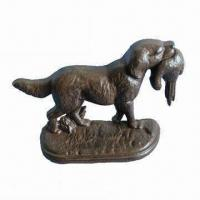 China Door Stopper with Dog Design, Made of Cast Iron on sale