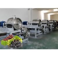 Quality Industrial Grape Juice Processing Line Beverage Making Machine Energy Saving wholesale